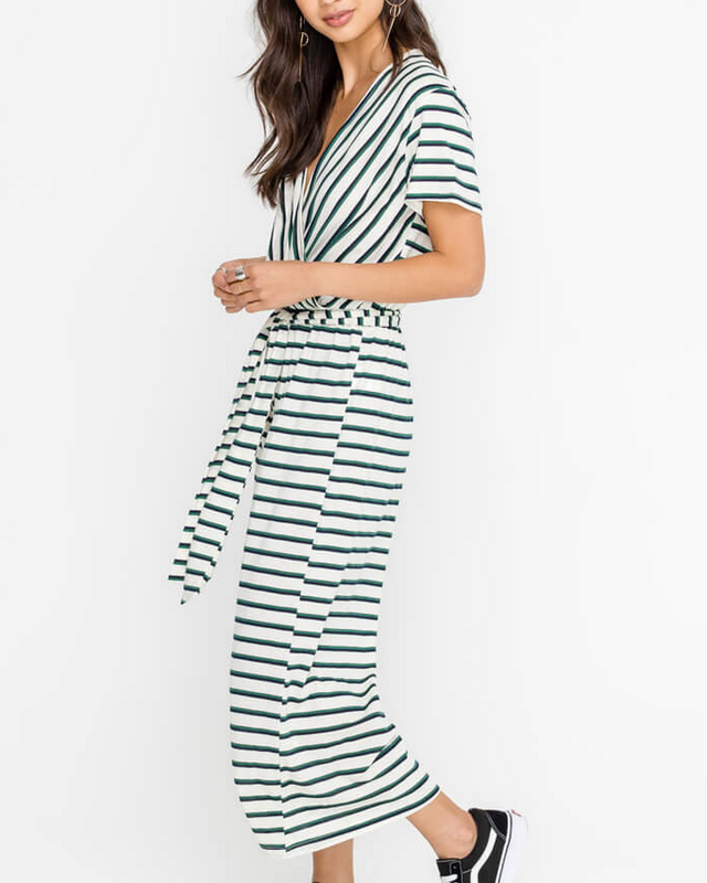 CAMI STRIPE JUMPER