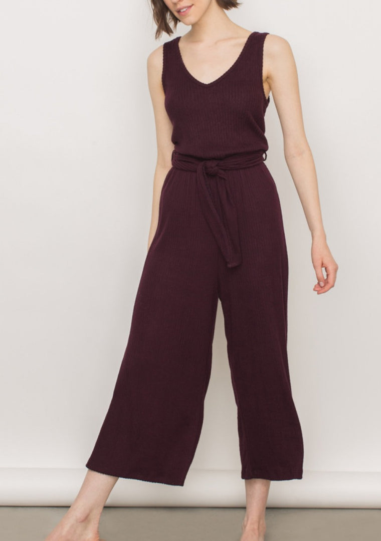 KARI RIBBED JUMPSUIT