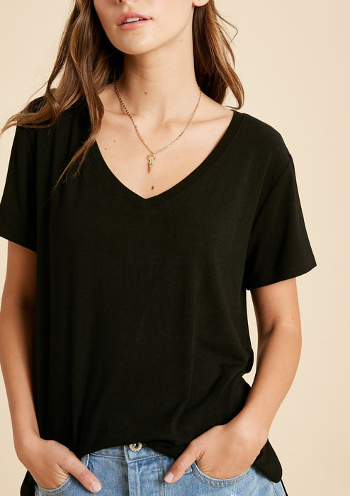 super soft vneck tshirt