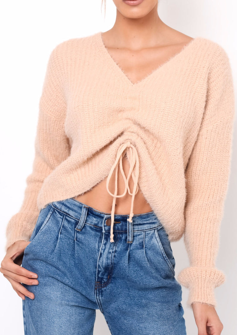 ABBIE CROPPED SWEATER