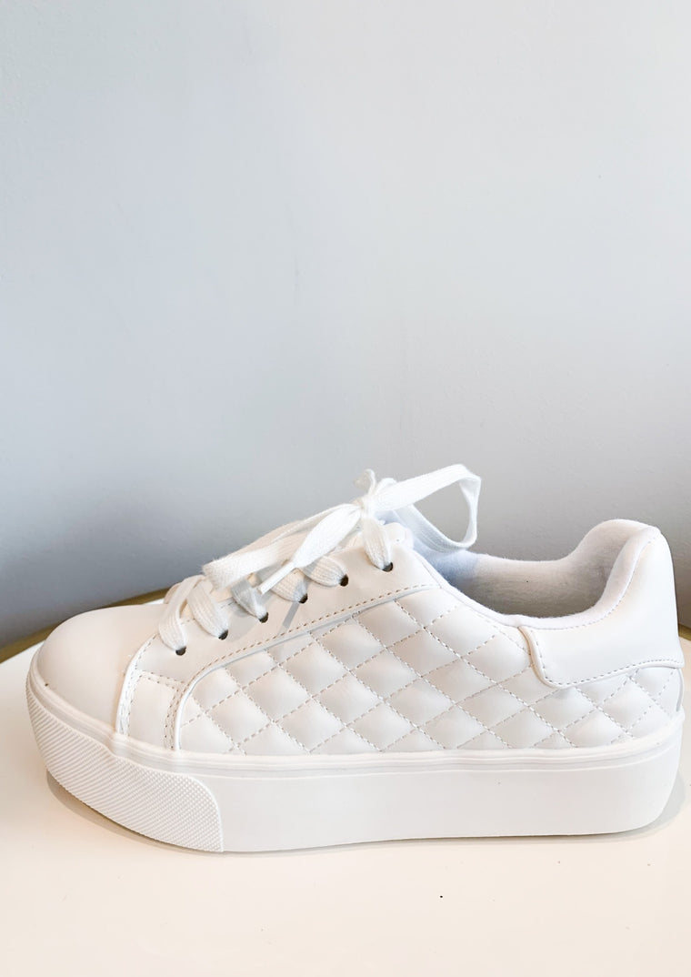 ANASTASIA QUILTED SNEAKERS