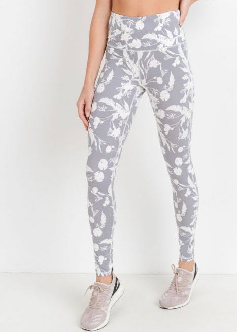 POPPY PRINT LEGGINGS