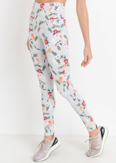IKEBANA FLORAL LEGGINGS