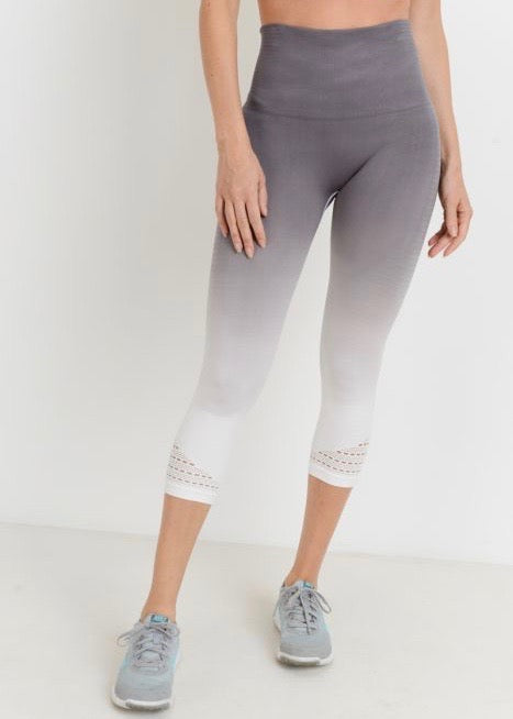SYLVIE OMBRE PERFORATED LEGGINGS