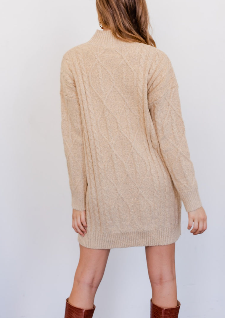 DARCI SWEATER DRESS
