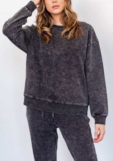 JASPER WASHED SWEATSHIRT