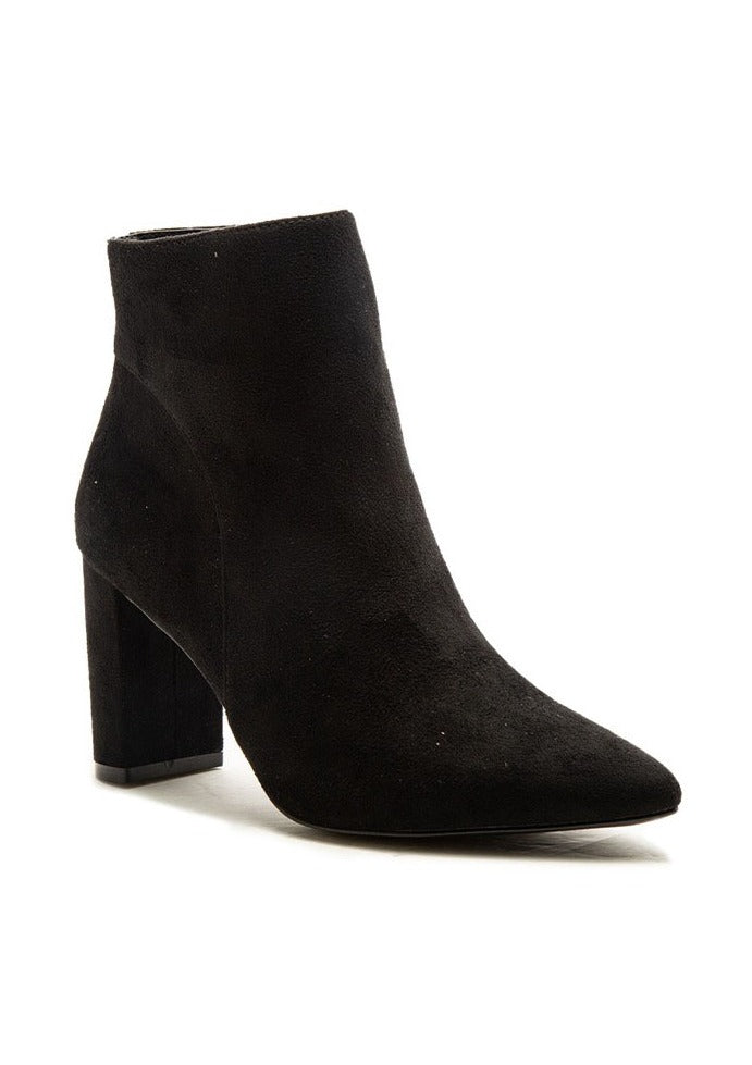 GOLDA SUEDE POINTY TOE BOOTS