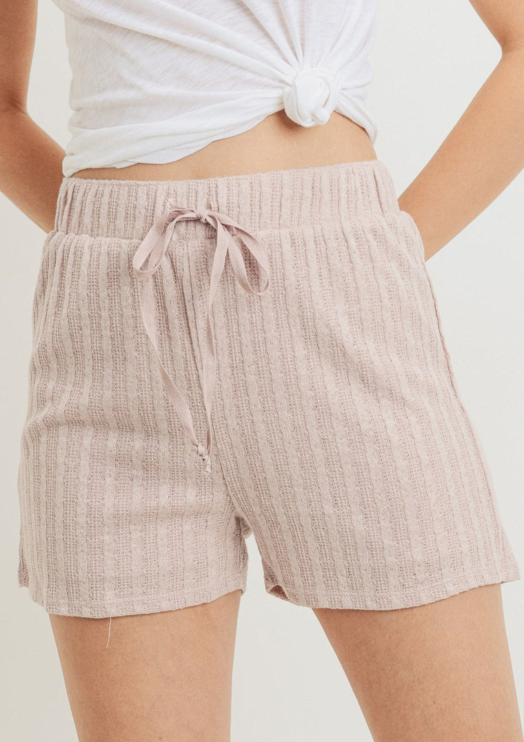 JULIANA TEXTURED SHORTS