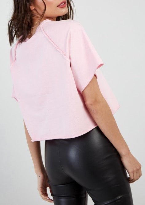 DEON CROPPED T-SHIRT