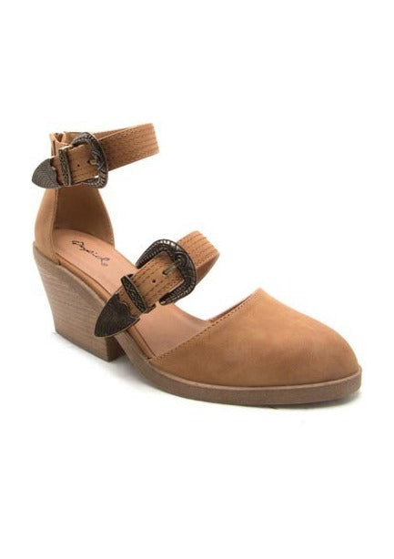 ZORA DOUBLE STRAP CLOGS