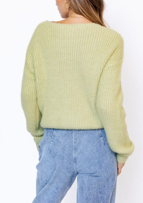 PETRA RUCHING DETAIL SWEATER