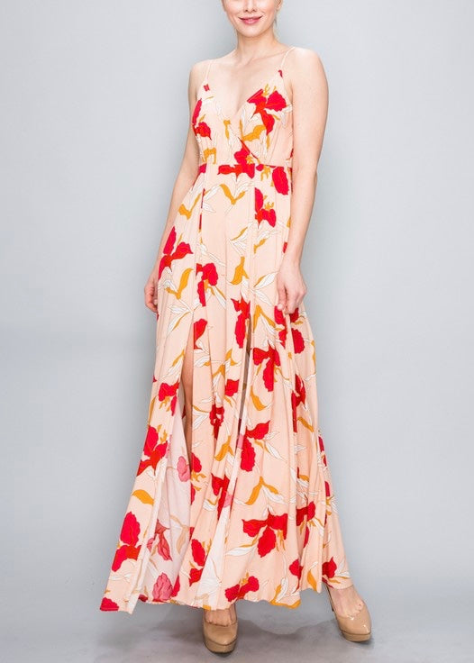 WHITNEY FLORAL MAXI DRESS