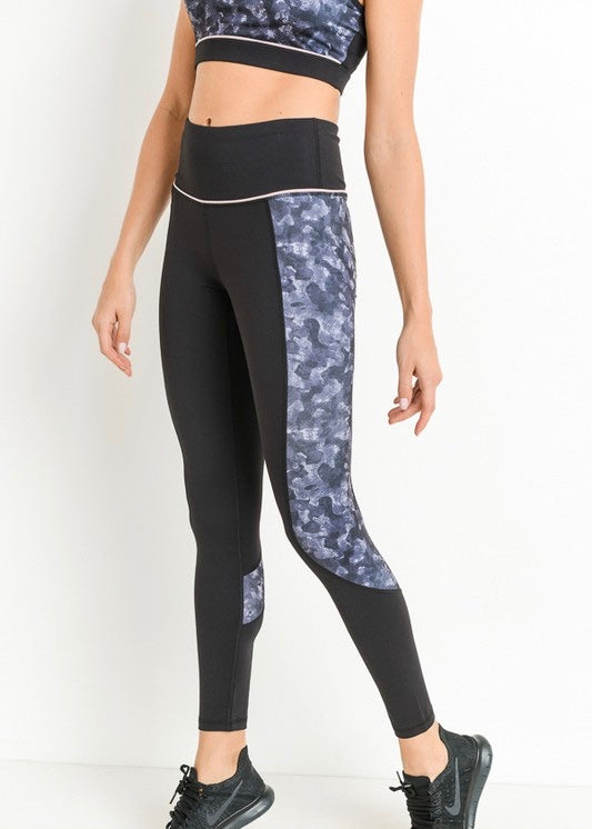 BLOCK CAMO FULL LEGGINGS