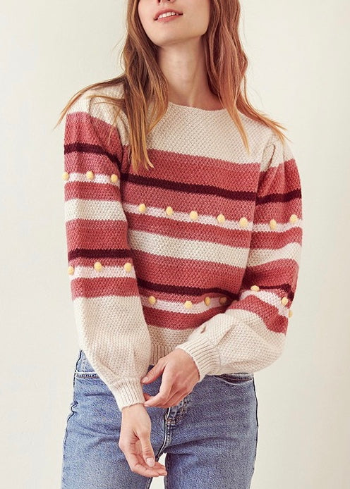 HILLARY MULTI COLOR SWEATER