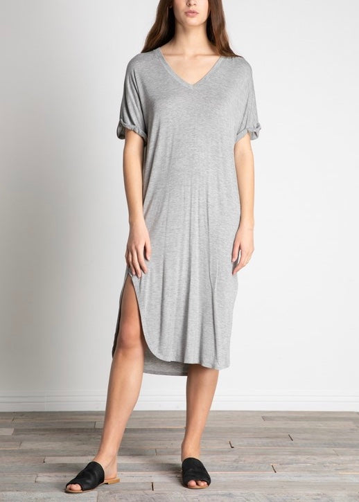 BECK SHIFT MIDI DRESS