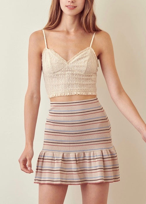 BEVERLY MINI SKIRT