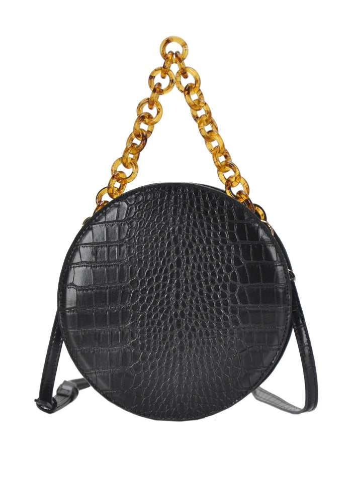 CROC CIRCLE CROSS BODY