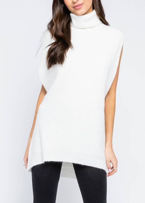 SARA TURTLENECK TUNIC SWEATER