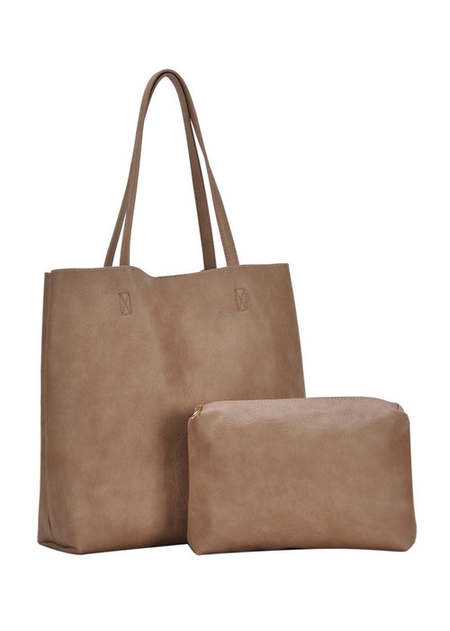 TOTE BAG WITH EXTRA BAG