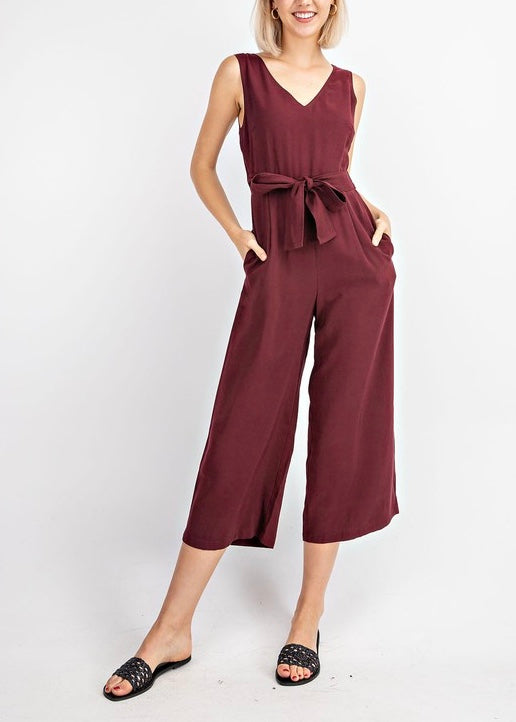 ERIN CROPPED JUMPSUIT