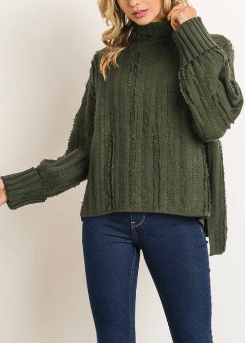 HUNTER TURTLENECK SWEATER