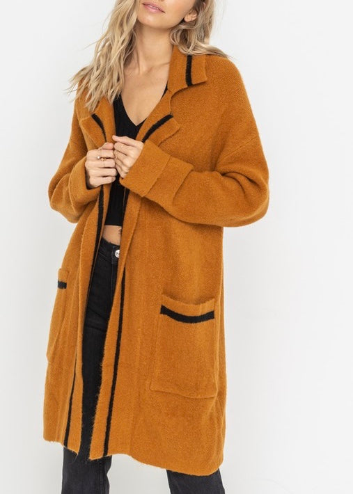 PEYTON SWEATER COAT