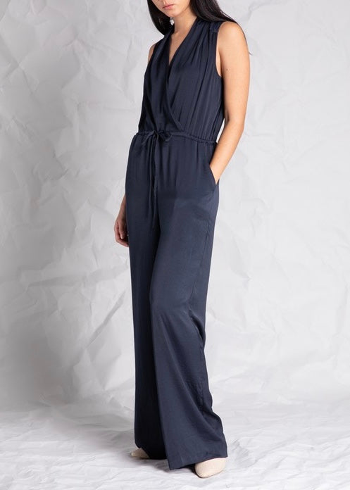 WRAPPED JUMPSUIT