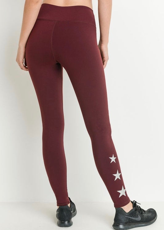 LEGGINGS WITH STARS