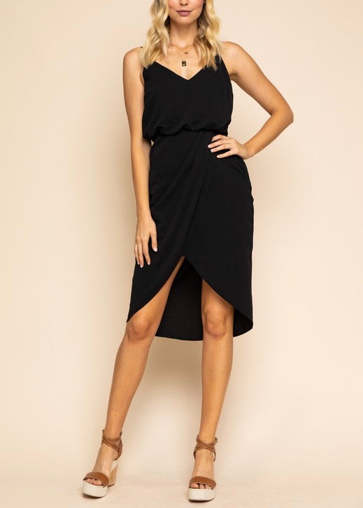 SHELBY WRAP DRESS
