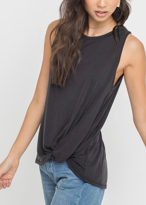 SIDE KNOT TANK TOP