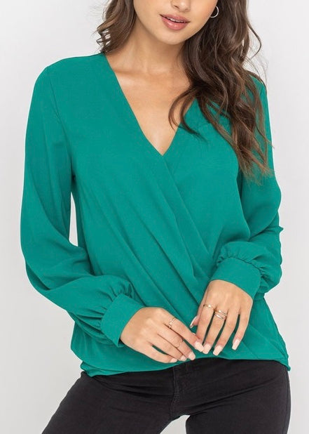 TAMMY CROSSOVER BLOUSE