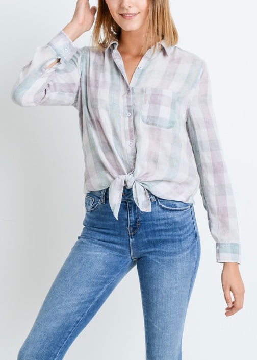 BETTY PLAID SHIRT