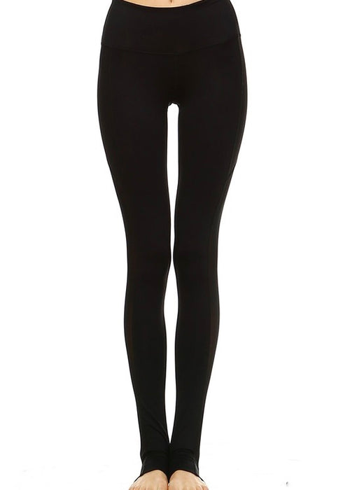 BLACK NEMO STIRRUP LEGGINGS