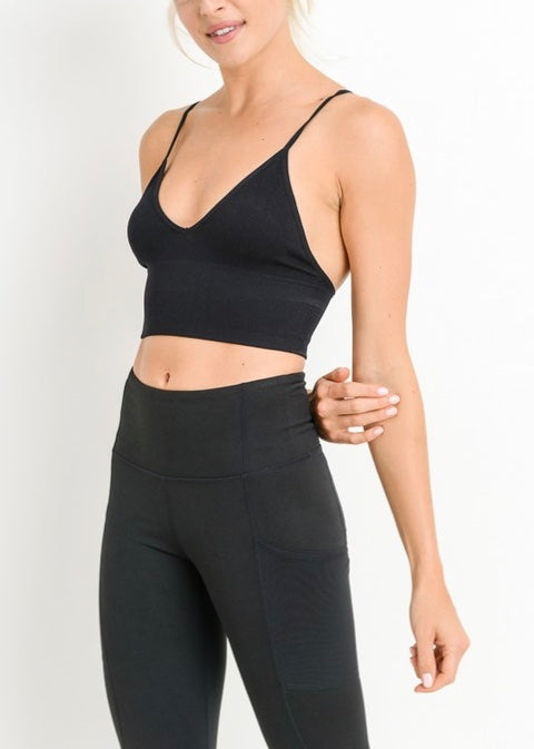 CROP FIT ATHLEISURE BRA