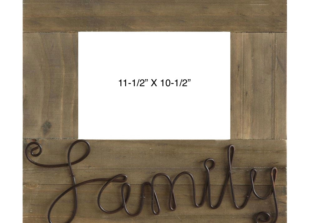 FAMILY WOODEN FRAME