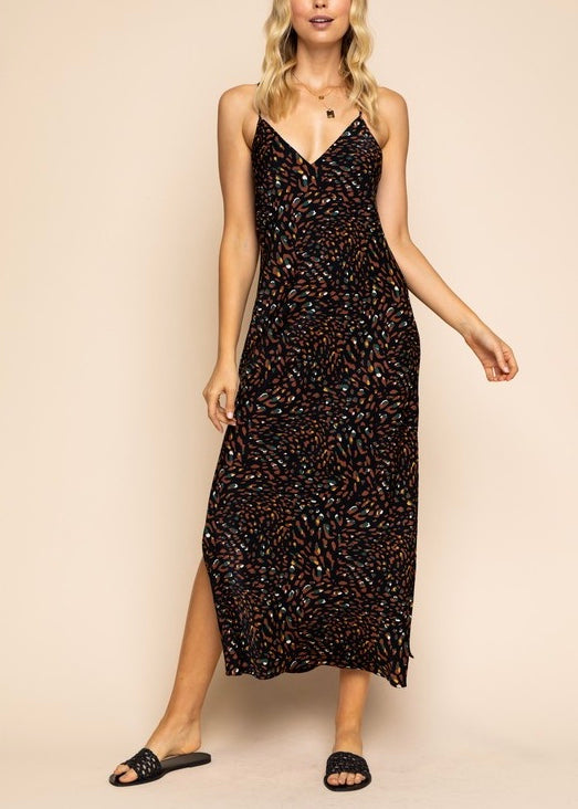 CODY LEOPARD MAXI DRESS