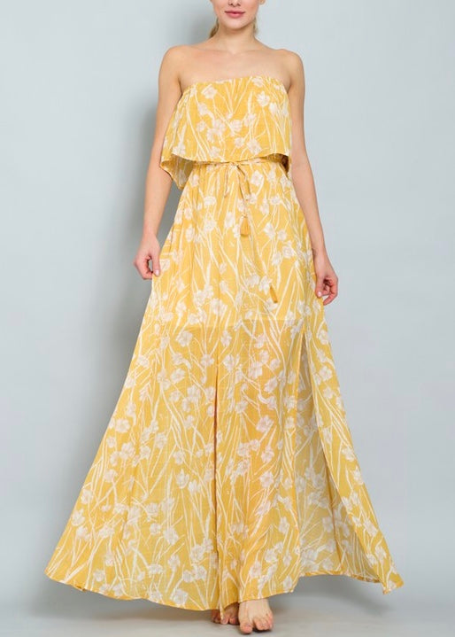 ROXY YELLOW MAXI DRESS