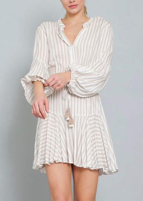 KELLIE STRIPED DRESS