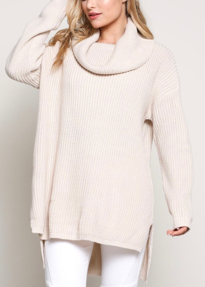 SHELLY WEEKEND CONVERTIBLE SWEATER