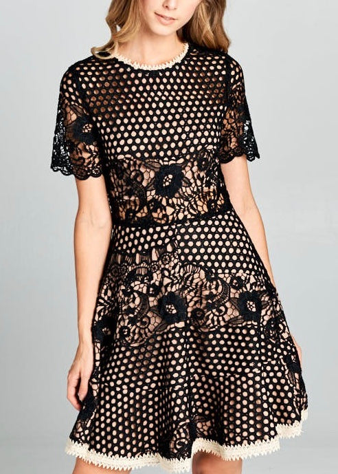 JACKIE O LACE DRESS