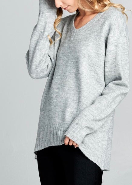 CAROLINA SOFT KNIT SWEATER
