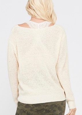 KNIT & KNOT SWEATER