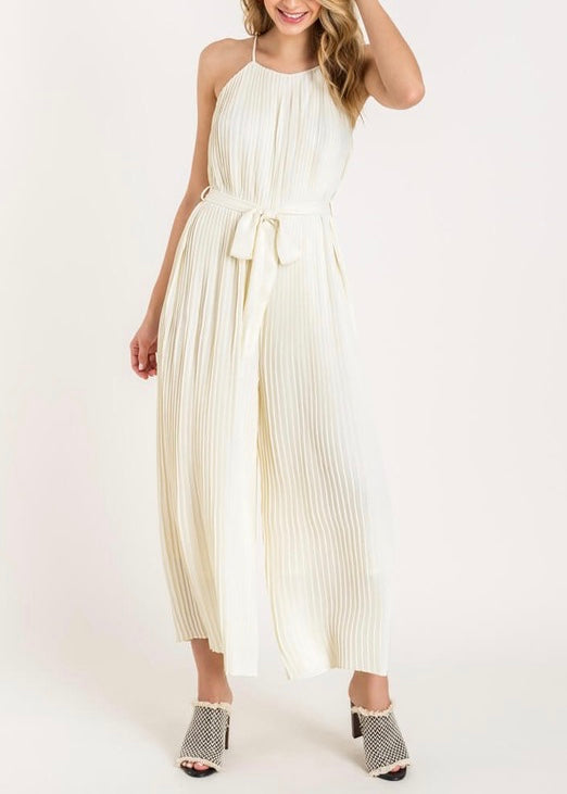 AMIEE PLEATED JUMPSUIT