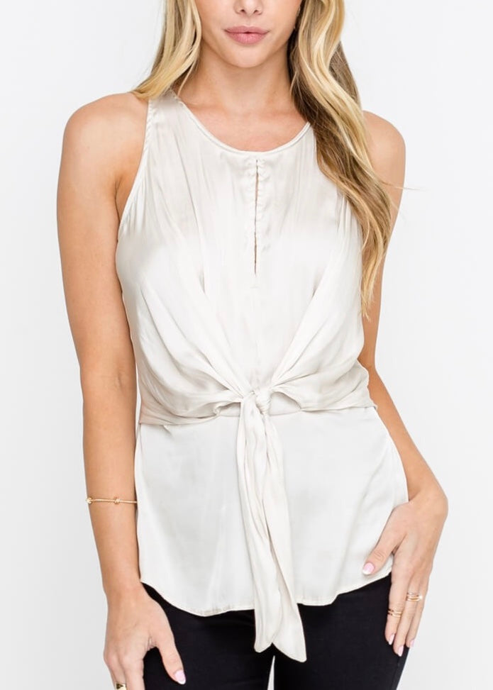 UPPER EAST SIDE SILK TOP
