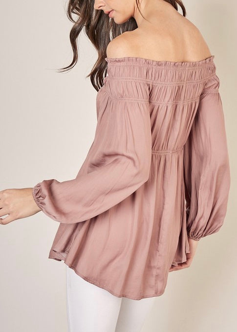 LUNA OFF SHOULDER BLOUSE