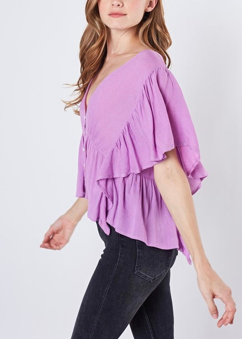 CONCERT FLARE TOP