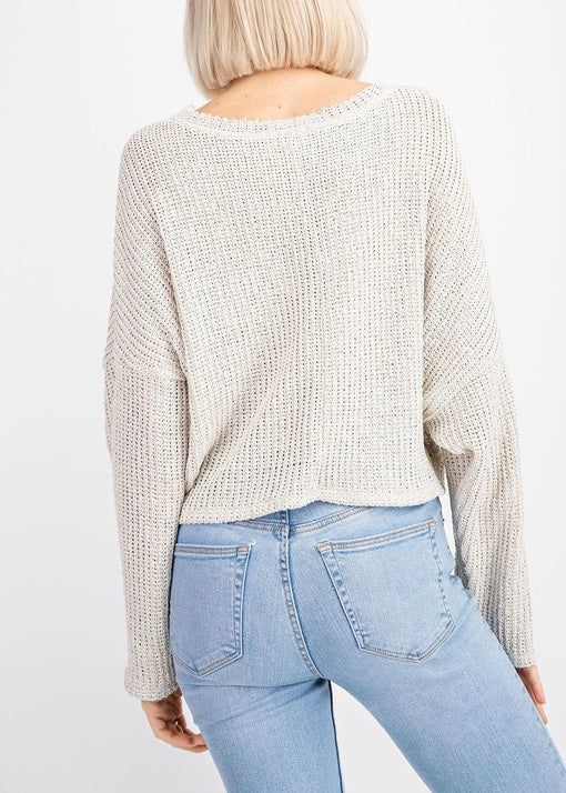 SHELLY OVERSIZED SWEATER