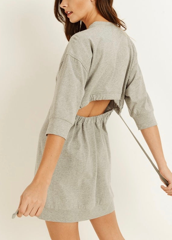 GO-TO SWEATSHIRT DRESS