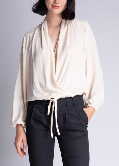 RACHEL WRAP BLOUSE