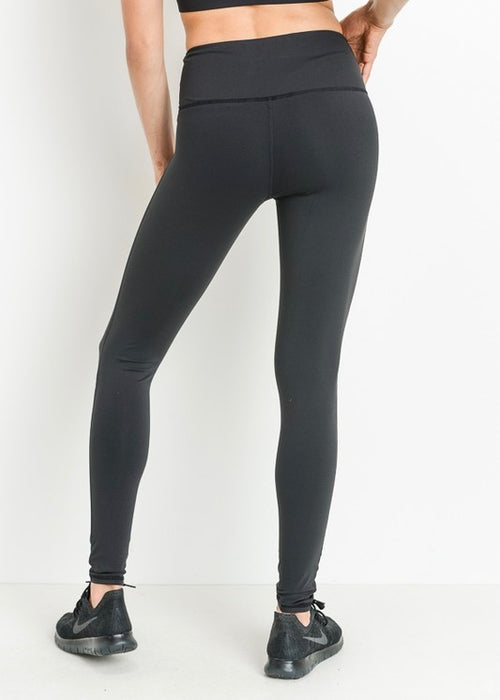 HIGH WAIST BLACK STAR LEGGINGS